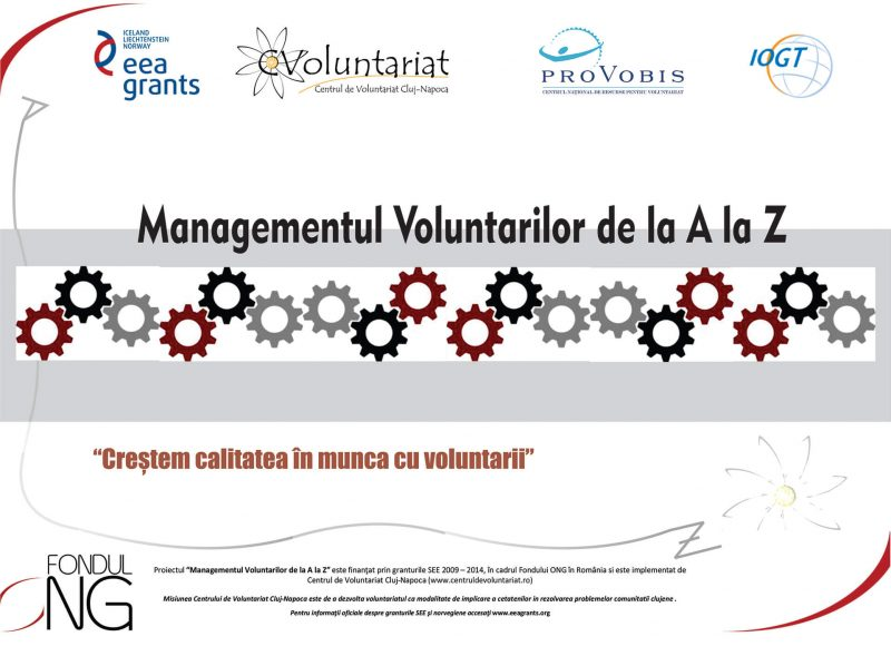 Managementul Voluntarilor de la A la Z